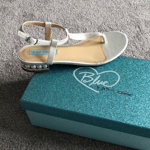 Betsey Johnson Wedding Sandal - 7.5 - Never Worn